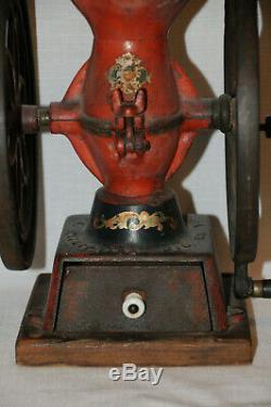 Antique ENTERPRISE PHILADELPHIA Coffee Grinder No. #2 Mill
