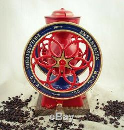 Antique ENTERPRISE PHILADELPHIA Coffee Grinder No. 2 Mill Moulin cafe Molinillo