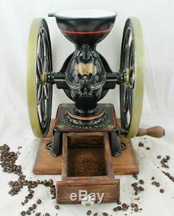 Antique ENTERPRISE PHILADELPHIA Coffee Grinder No. 3 Mill Moulin cafe Molinillo