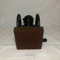 Antique ENTERPRISE Tabletop Coffee Grinder Mill Good Condition