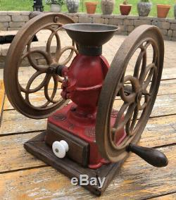 Antique Elma #4 Coffee Grinder Mill