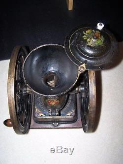 Antique Enterprise #5 Coffee Grinder. Drug & Spice Mill All Original