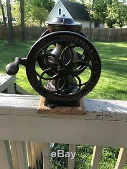Antique Enterprise Cast Iron 12 Coffee Grinder Mill No. 2 Pat 1873 Vintage