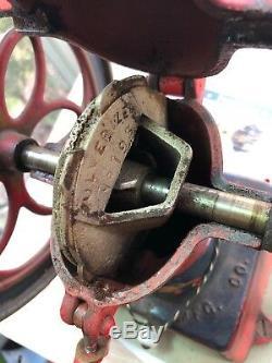 Antique Enterprise Cast Iron Coffee Mill Grinder Original Paint
