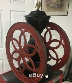 Antique Enterprise Coffee Grinder Mill Model 209 Cast Iron 1898 Ships Fed EX
