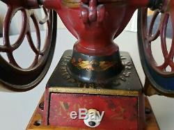 Antique Enterprise Coffee Grinder No. 2 1870's Free Shipping