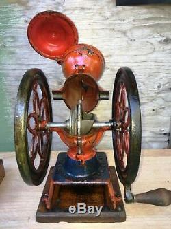 Antique Enterprise Coffee Grinder No. 2 Original