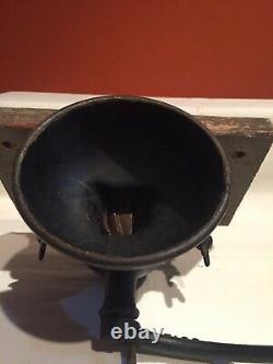 Antique Enterprise Hand Coffee Grinder, Mill Original Paint & Decals, Catch Bowl