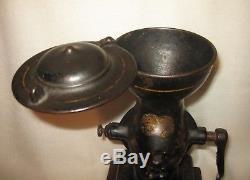 Antique Enterprise Mfg. Co. Cast Iron Coffee Grinder