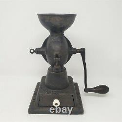 Antique Enterprise Mfg Co Cast Iron Coffee Grinder Mill Oct 1873 Pat No 1
