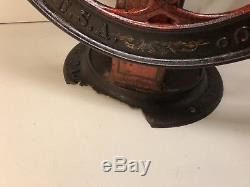 Antique Enterprise Mfg. Co. Large General Store Use No. 712 Coffee Grinder WOW