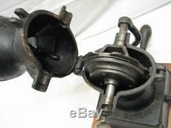 Antique Enterprise Mfg Co No. 1 Cast Iron Coffee Grinder Mill 1873 Pat Phila PA