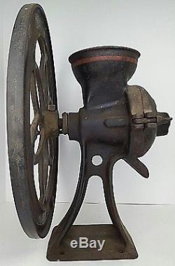 Antique Enterprise Mfg Co Philadelphia PA Coffee Mill Grain Corn Grinder No. 750
