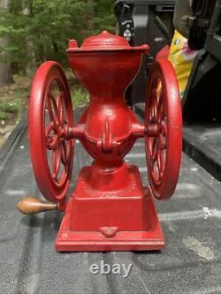 Antique Enterprise Mfg. Co. Philadelphia USA Grinder Complete W- Cast Drawer HTF