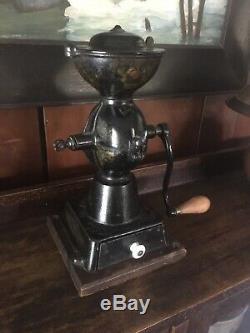 Antique Enterprise No. 1 Cast Iron Coffee Grinder/Mill