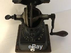 Antique Enterprise No 1 Cast Iron Coffee Mill Grinder USA Made