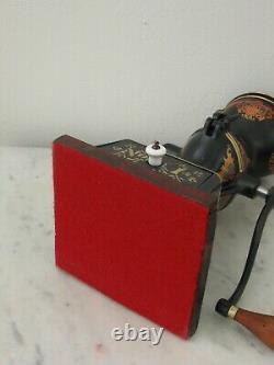Antique Enterprise No. 1 Pat. 1898 Cast Iron Coffee Grinder Mill