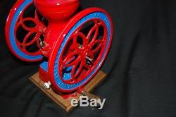 Antique Enterprise No. 2 Cast Iron Coffee Grinder Professionally Restored