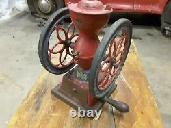 Antique Enterprise No 2 Cast Iron Coffee grinder mill