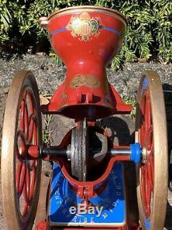 Antique Enterprise No. 2 Coffee Grinder Mill Excellent Restored Condition