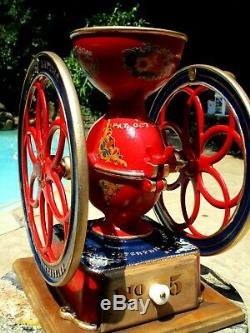 Antique Enterprise No. 5 Coffee Mill Grinder 1873-1876
