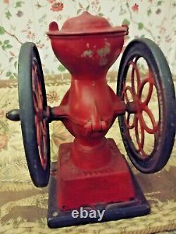 Antique Enterprise Philadelphia Pa. Coffee Grinder Mill No. #2 Lovely Detail