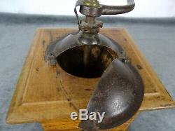 Antique French Coffee Grinder Mill Sign Japy Freres & Cie Beaucourt Paris 1910