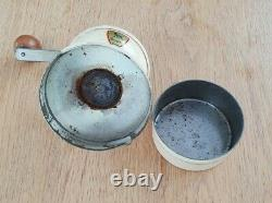 Antique French Peugeot Freres Coffee Mill Grinder A Rare Shape Collectable