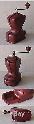 Antique German Bakelite Coffee Grinder MILL / Marked Mocca Kym / Functional