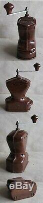 Antique German Luxurious Bakelite Coffee Grinder MILL / Ktm Mocca / Functional