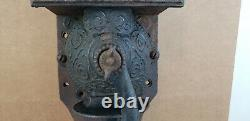 Antique Golden Rule Wall Mount Coffee Grinder