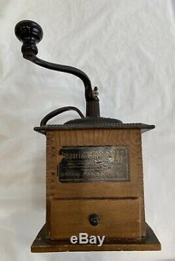 Antique Imperial Mill #747 Arcade Coffee Grinder Patented 1889 Excellent
