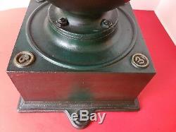 Antique Industrial Cast Iron Balance Wheel Coffee Grinder Zassenhaus N. 3 Germany