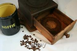 Antique JAPY Freres N2 Coffee Grinder Mill Moulin café Molinillo Macinacaffe