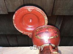 Antique LF&C Landers Frary & Clark No 11 Coffee Grinder Original Paint & Decals