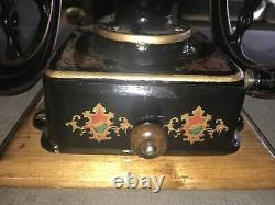 Antique Landers, Frary Clark #30 cast iron coffee grinder, Beautiful Condition