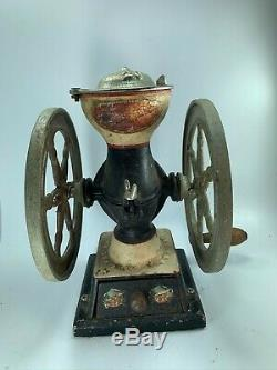 Antique Landers Frary & Clark Coffee Grinder Mill # 20 Cast Iron USA 32487