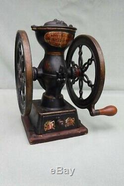 Antique Landers Frary Clark Crown Coffee Grinder Mill #20