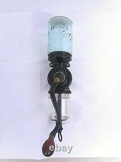 Antique Landers Frary Clark Universal No 24 Wall Mount Coffee Grinder Excellent
