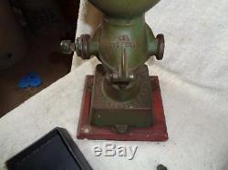 Antique Landers Fray & Clark Table Coffee Grinder