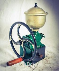 Antique MUTZIG FRAMONT C2 Coffee Grinder Mill Kaffeemühle Moulin Molinillo Cafe