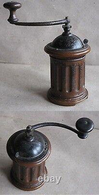 Antique More Than 100 Years Old German Coffee Grinder MILL / Unusual