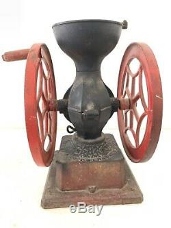 Antique National Specialty PHILADELPHIA Coffee Grinder Mill Moulin Cafe RARE