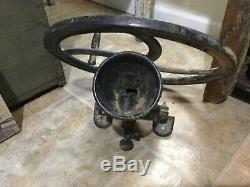 Antique No. 1 Cast Iron Coffee Mill Grain Grinder