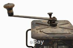 Antique ONE POUND COFFEE MILL GRINDER Simmons Hardware Co. Metal