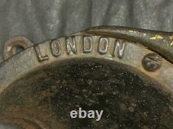 Antique Old Rare Spong & Co. Ltd No. 4 Iron Coffee Grinder Made In England