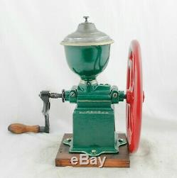 Antique PEUGEOT FRERES C1 Coffee Grinder Mill Cast-Iron Moulin Molinillo Cafe