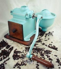 Antique PEUGEOT FRERES C3 Coffee Grinder Mill Cast-Iron Moulin Molinillo Cafe