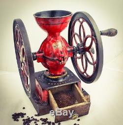 Antique PHILADELPHIA ENTERPRISE Coffee Grinder No. 3 Mill Moulin cafe Molinillo