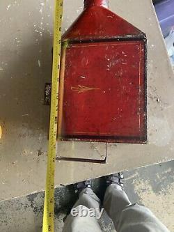 Antique Paint Decorated Toleware Coffee Hopper for Grinder 001